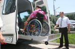 Today a press conference has been held in Almaty on the occasion of the launch of a bus tourist route for disabled persons